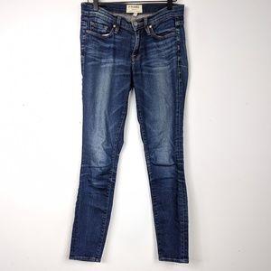 Frame Denim Distressed Wash Skinny Jeans